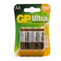 Элемент питания LR6 GP Ultra Alkaline BL-4 (box-40)