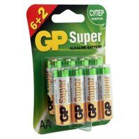Элемент питания LR6 GP Super Alkaline BL-8 (box-96)