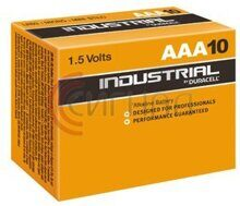Элемент питания LR03 Duracell Industrial (box-10)
